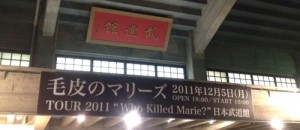 毛皮のマリーズWho Killed Marie?@日本武道館