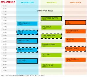 rockstokyo2011 1日目