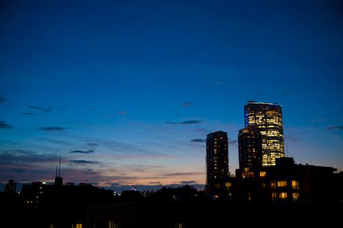 夕焼けが綺麗だったから撮りに行った(撮影地:非公開)
