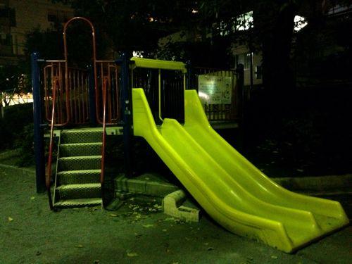 帰り道の公園