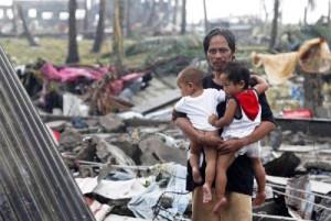 フィリピンを襲った台風