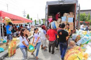 台風後のフィリピンへの支援