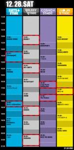 COUNTDOWN JAPAN 13/14 1日目