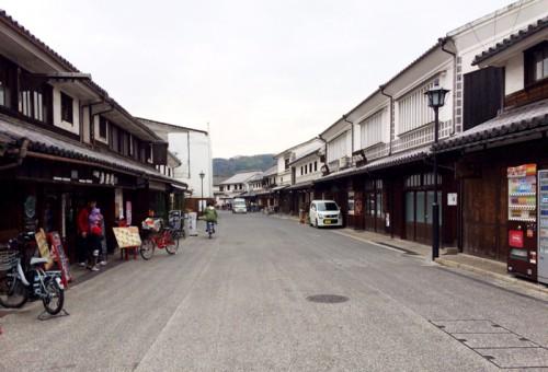 倉敷の町並み