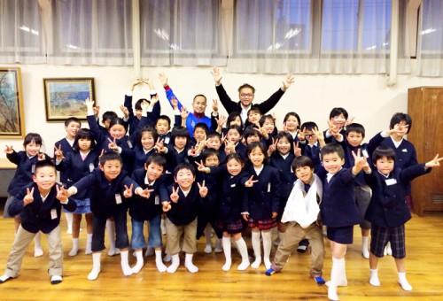 倉敷東小学校での講演