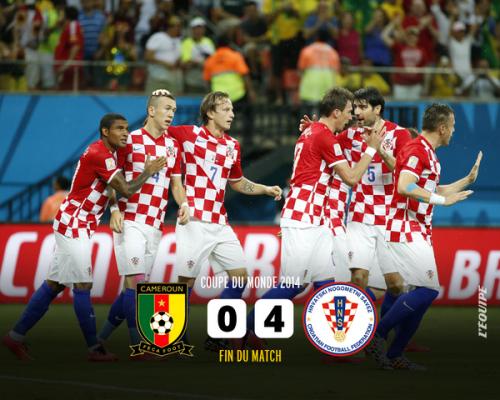 カメルーン対クロアチア