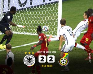 ドイツ対ガーナ