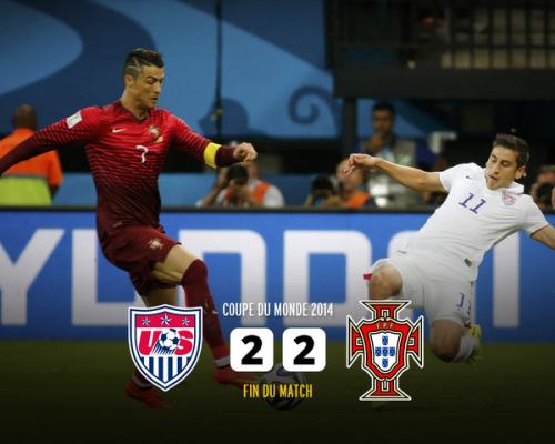 アメリカ対ポルトガル