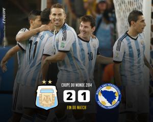 アルゼンチン対ボスニア・ヘルツェゴヴィナ