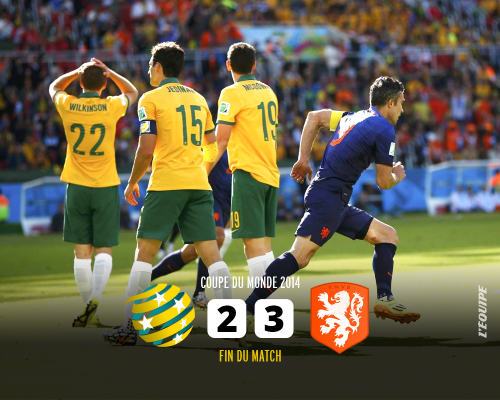 オーストラリア対オランダ