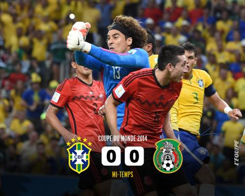 ブラジル対メキシコ