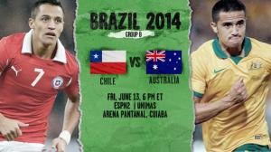 チリ対オーストラリア
