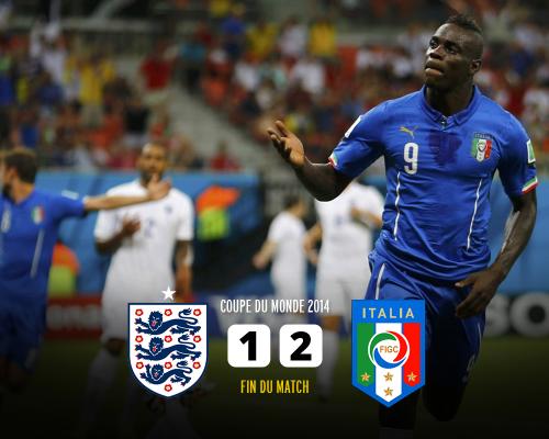 イングランド対イタリア