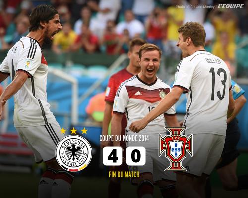 ドイツ対ポルトガル