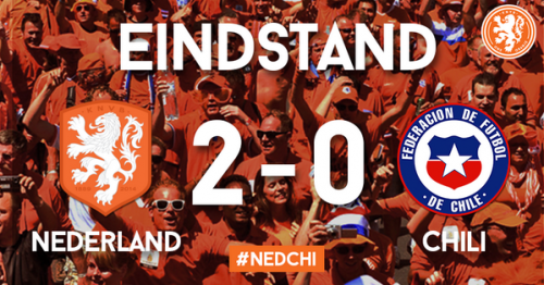 オランダ対チリ