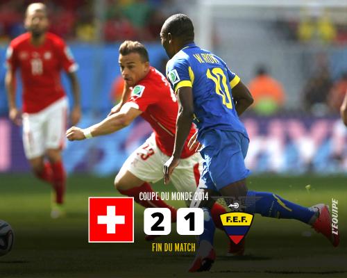 スイス対エクアドル
