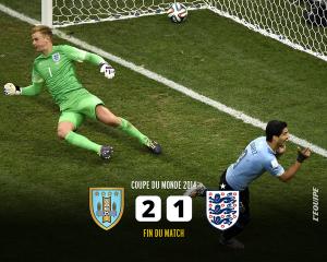 ウルグアイ対イングランド