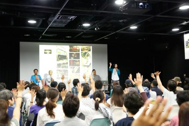 3日目のトークイベント「greenz.jpと語る、地域とゲストハウスの未来とは」の様子