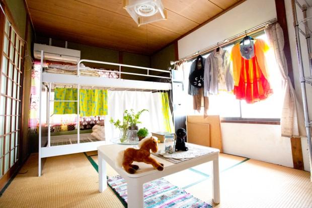 「洗濯船」2F、もう一人の住人の部屋