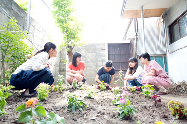 「生活と時間」には庭もあります