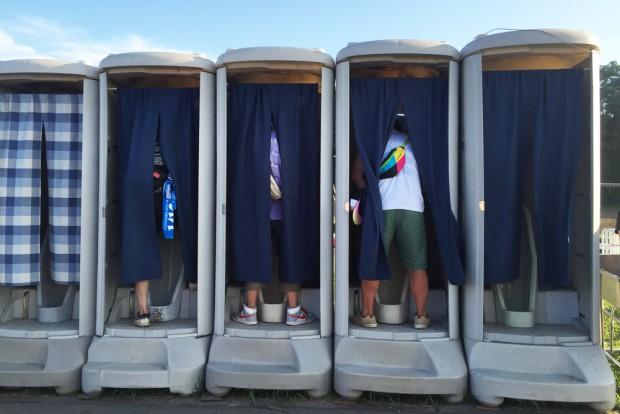 ロックインジャパンフェスのトイレ
